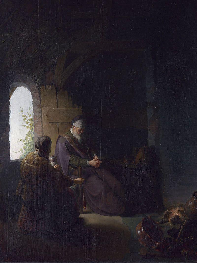 Philosopher In Meditation Rembrandt Paintings Rembrandt Van Rijn Rembrandt