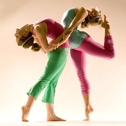 hardtail forever  partner yoga poses yoga yoga pictures