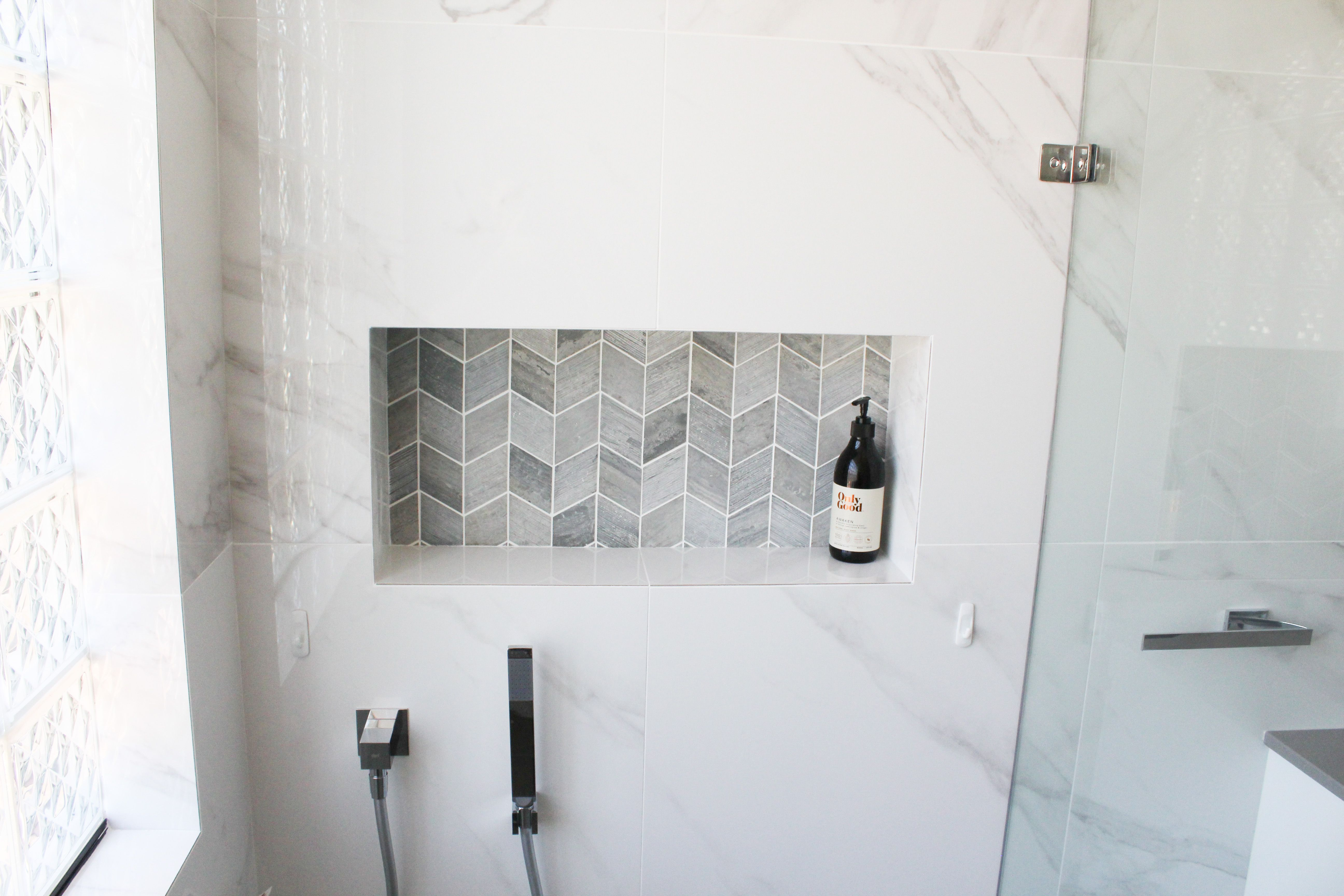 Shower Recess Niche Shelf In Wall