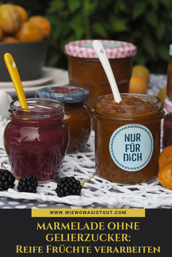 Photo of Jam without jam sugar: this is how I process ripe fruit from the garden – wiewowasistgut.com