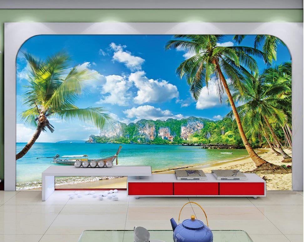 Resultado de imagem para papel de parede de paisagens em 3 dimensões