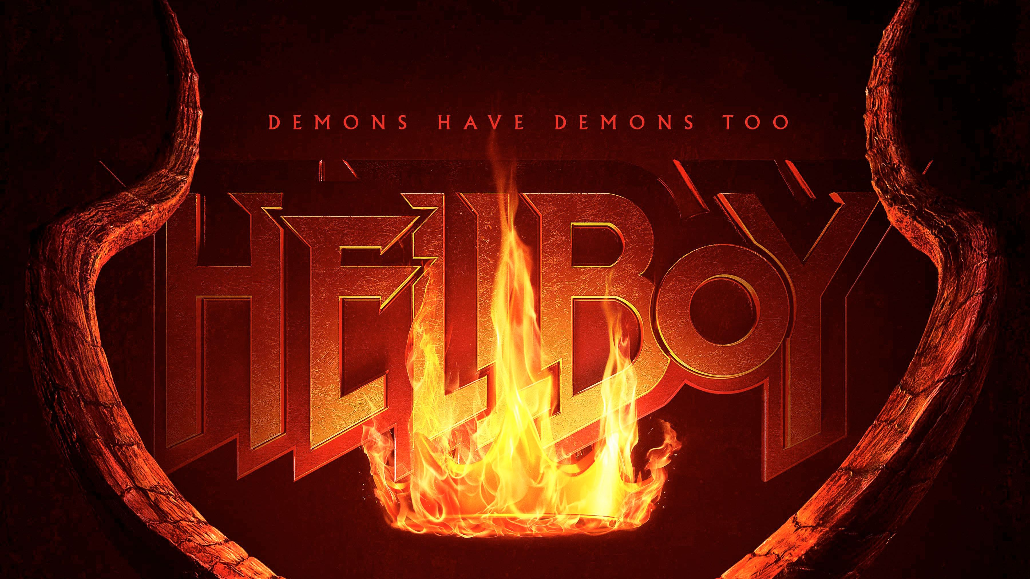 Hellboy 2019 Movie Logo 4k Movies Wallpapers Logo Wallpapers Hellboy Wallpapers Hd Wallpapers 4 Hellboy Wallpaper Movie Wallpapers Iphone Wallpaper Hipster
