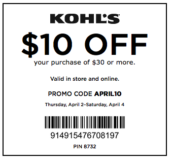 Extra 15% Off Your Next Purchase with Kohl's Email Sign Up