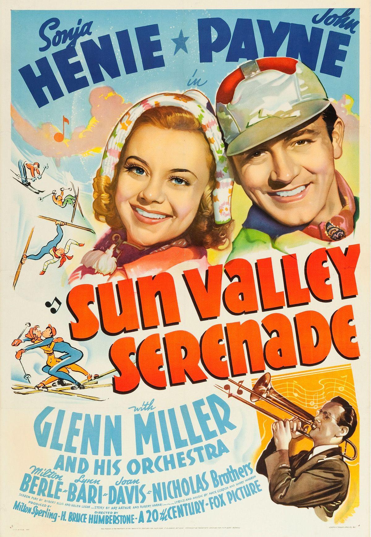 Sun Valley Serenade 1941 love old movies love music love Glenn