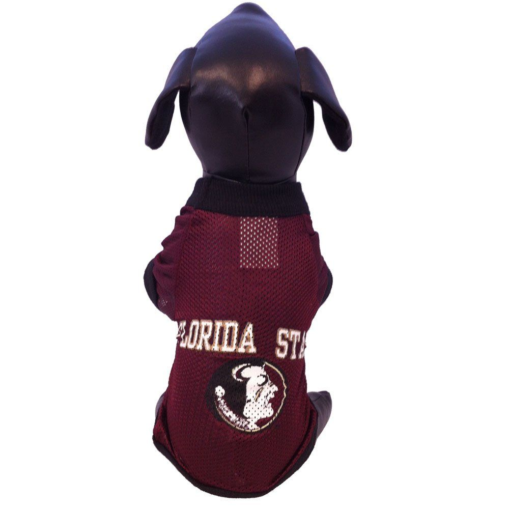NCAA Florida State Seminoles Athletic Mesh Dog Jersey Team