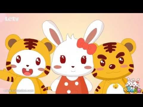 1:50 兩隻老虎 兒歌童謠 | Character. Pikachu. Youtube