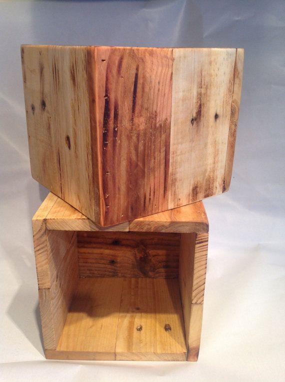 Storage Box Reclaimed Wood Storage Box Wood Storage Storage
