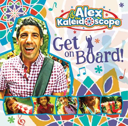 Get On Board! CD by Alex & The Kaleidoscope ** Follow me on www.MommasBacon.com **