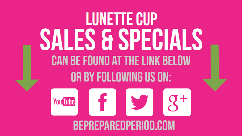 Lunette Cup Sale: Stay up-to-date on our most recent sales and specials. Visit https://www.youtube.com/watch?v=9-fJkk9z6K4 for details! @lunettecup #menstrualcups
