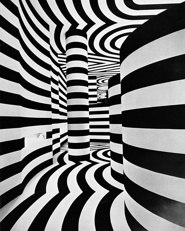 Immersive Room Installation Designed By Lance Wyman And