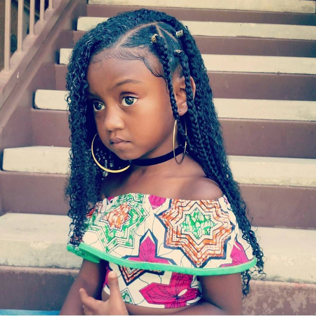 Box Braids American Girl Hairstyles African American Girl