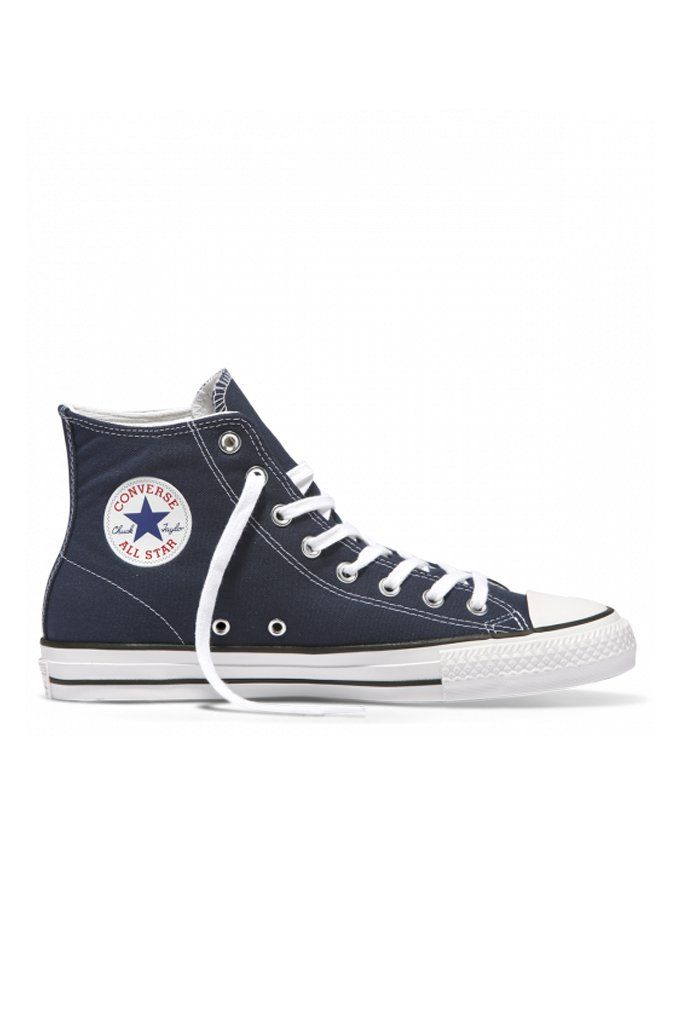 b71a680a6b002f Converse - CONS CTAS Pro High Top Midnight Navy. Rubber-infused canvas  upper for