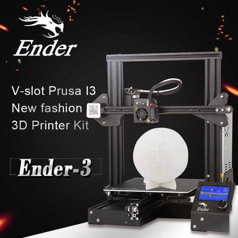 Creality Ender-3 Pro High Accuracy 3D Printer DIY Kits MK10 220x220x250mm Resume