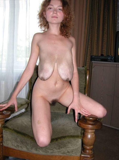 saggy tits empty Long