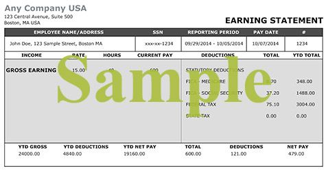 How To Get A Copy Of Your Pay Stubs Online