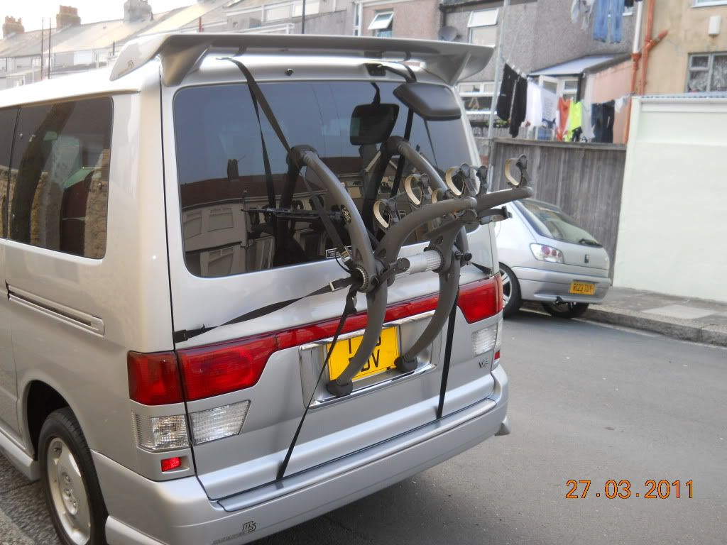 Bike Rack To Fit A Bongo Mazda Bongo Building A Tiny House Bike Rack