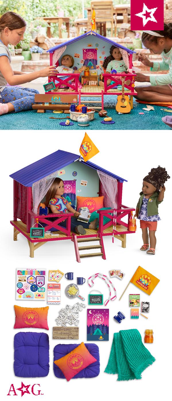 Camp American Girl™ Hangout #americangirlhouse
