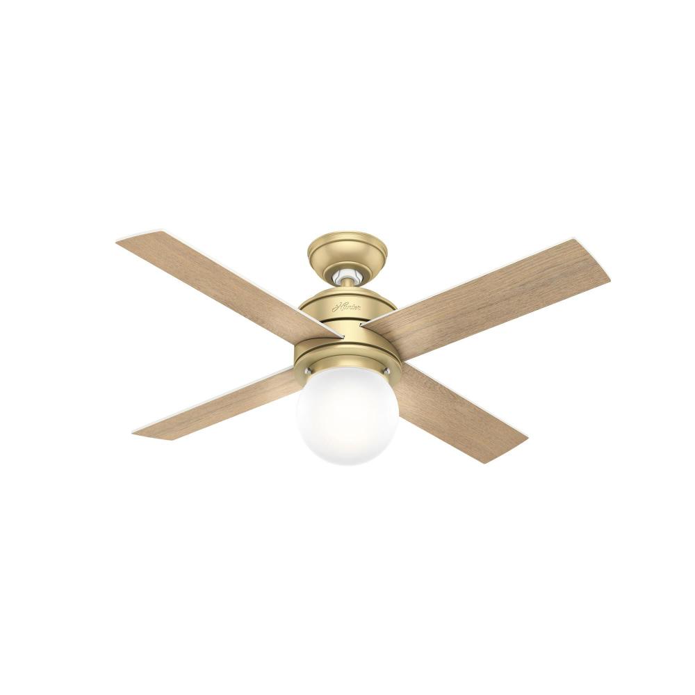 Hepburn 44 Inch Ceiling Fan With Light Kit Capitol Lighting In 2021 Ceiling Fan With Light Ceiling Fan Led Ceiling Fan