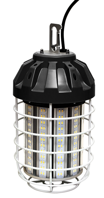 Engineered Products Company S Epco Tiger 100 Watt Temporary Led Luminaire Is A Highly