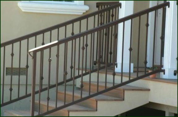 Wrought iron railing system   Deck Railing Ideas in 2019 ...