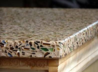 High Quality This Recycled Glass Countertop Is Much Cheaper Than Granite. Thereu0027s Three  More Eco Friendly