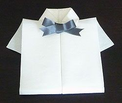 Le pliage de serviettes on pinterest napkins lotus and - Pliage serviette pomme de pin ...