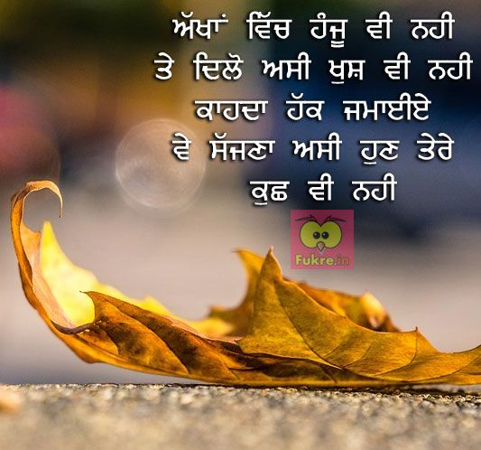 Pin By Raminder On Dil Se Punjabi Quotes Quotes Sad Quotes