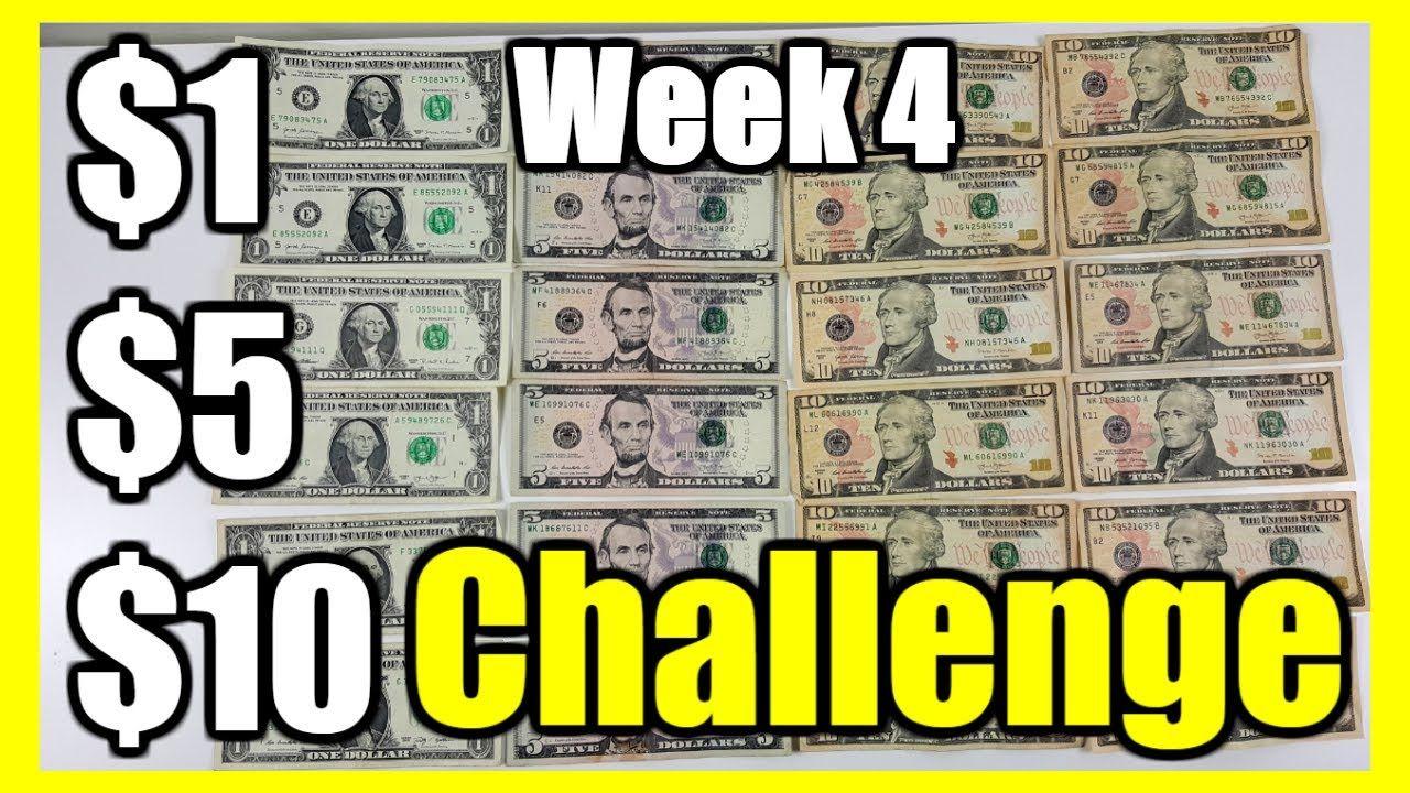 2020 savings challenge the 1 5 10 savings challenge