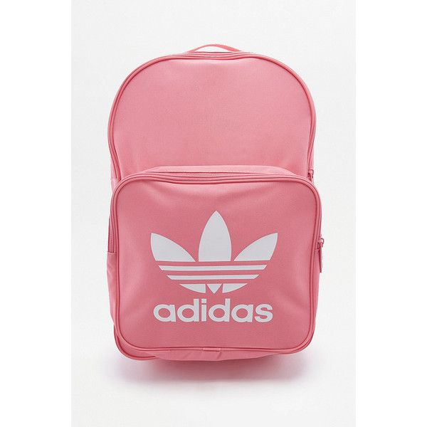 adidas Classic Trefoil Pink Backpack (910 MXN) ? liked on
