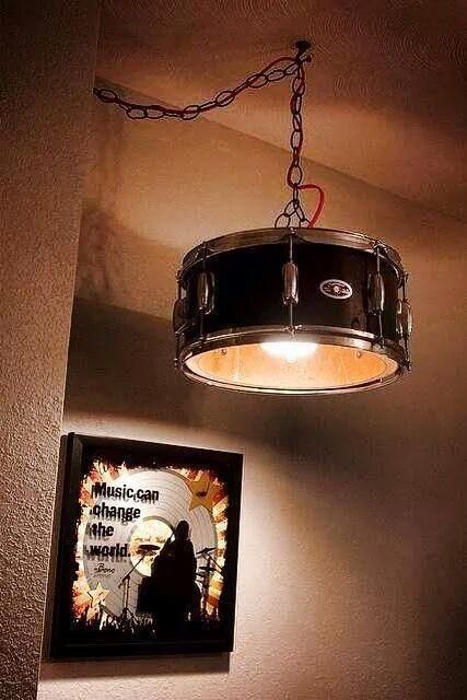 En Trumma Kan Bli Lampa Lampor