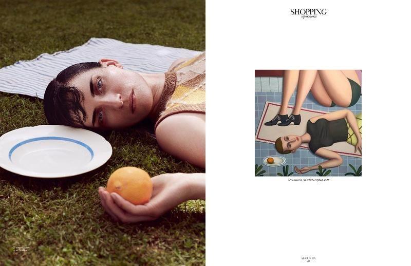 Shopping - Kim Peers (Vogue Ukraine)