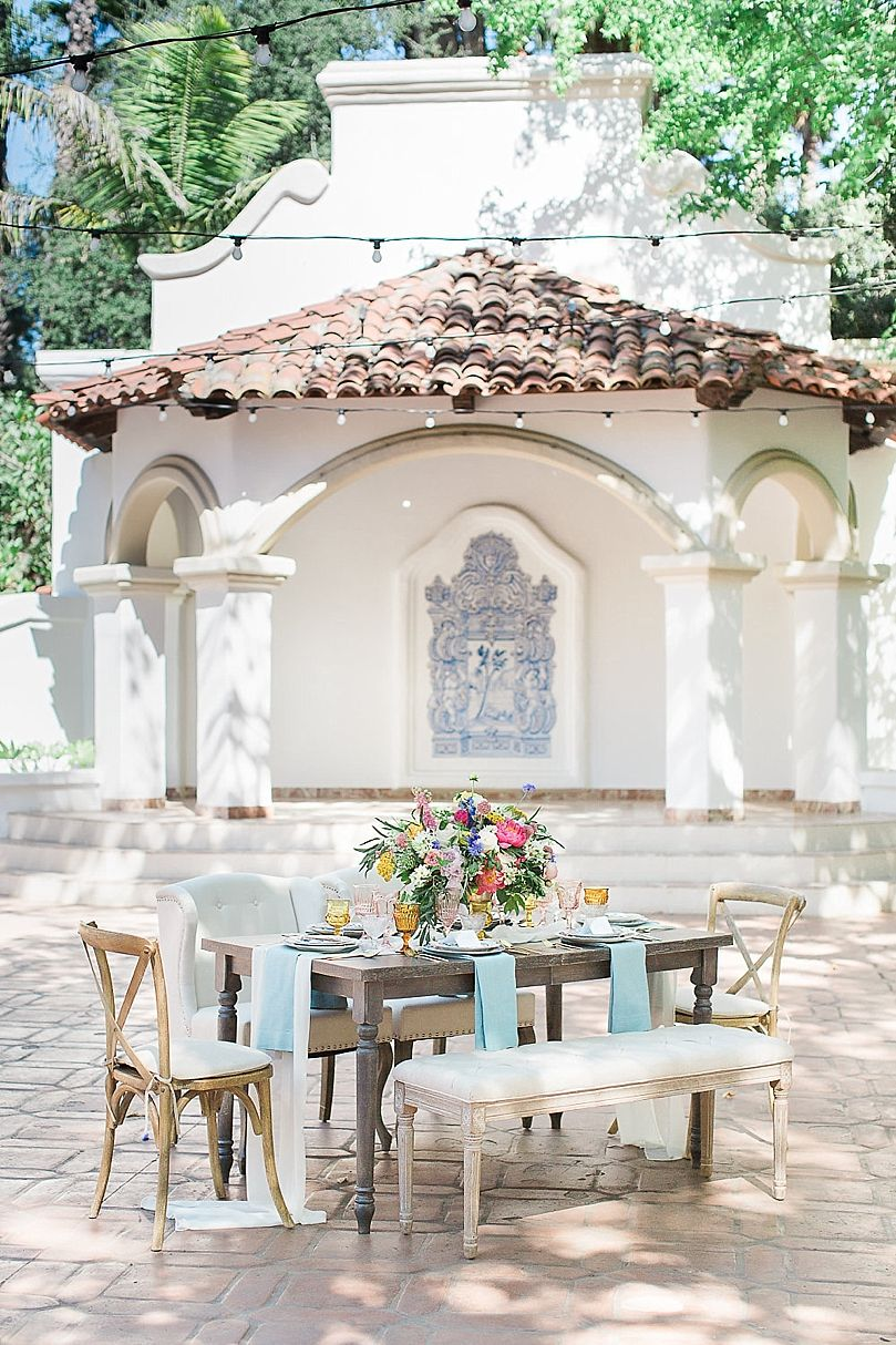 Elegant Spanish Style Wedding Inspiration at Rancho Las Lomas ...
