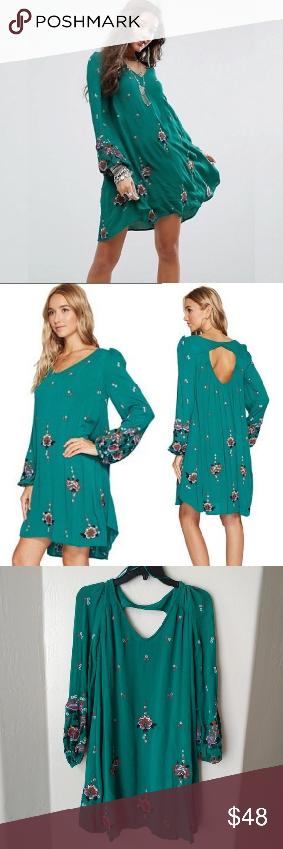 """65cd2c5a64 Free People Oxford Embroidered Mini Dress Free People Dress """"Oxford  Embroidered Mini"""" – absolutely"""