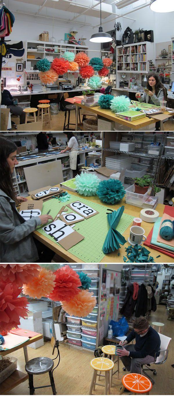 diy projects crafts workspaces ateliers pinterest atelier bureau et bureau biblioth que. Black Bedroom Furniture Sets. Home Design Ideas