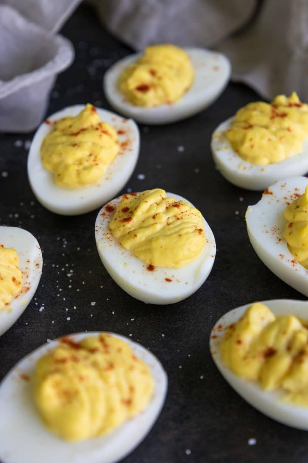 Classic Deviled Eggs with How-To Video | Mom's Dinner