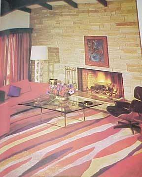 1971 Mid Century Modern Space Age Mod Interior Decorating Book