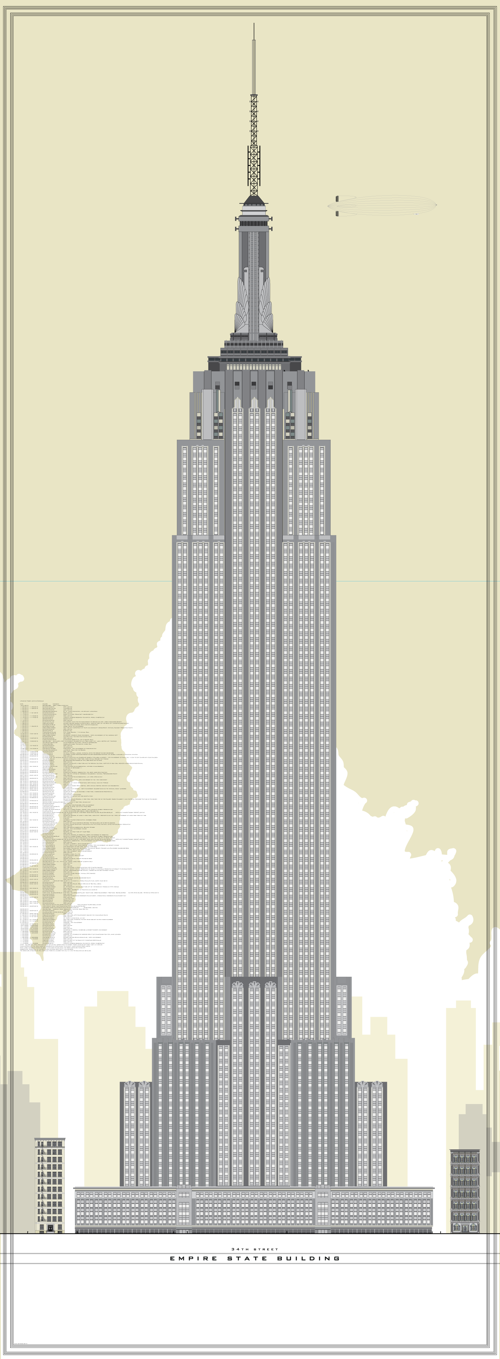 Empire State Building Vector Empire State Building Empire State Empire State Building Drawing