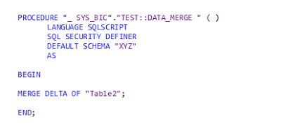 Calling HANA Stored Procedure from Abap class and scheduling