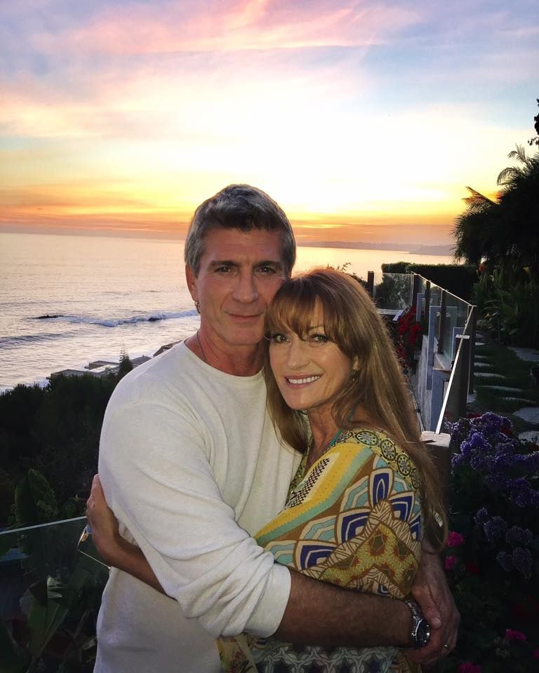 Jane Seymour and Joe Lando on the set of Funny or Die ... |Joe Lando And Jane Seymour