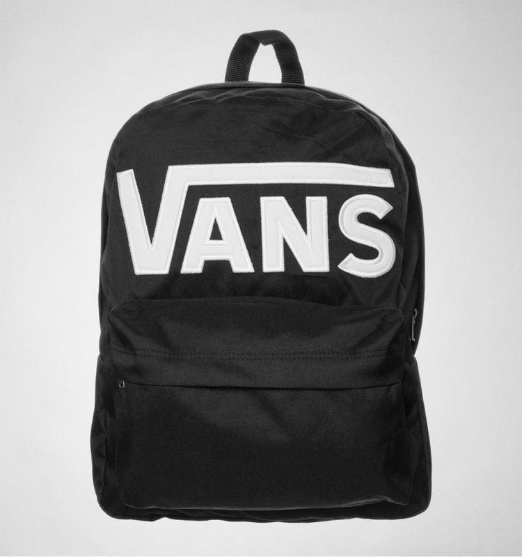 581dbb97a5 Vans Old Skool II Backpack Black-Wht
