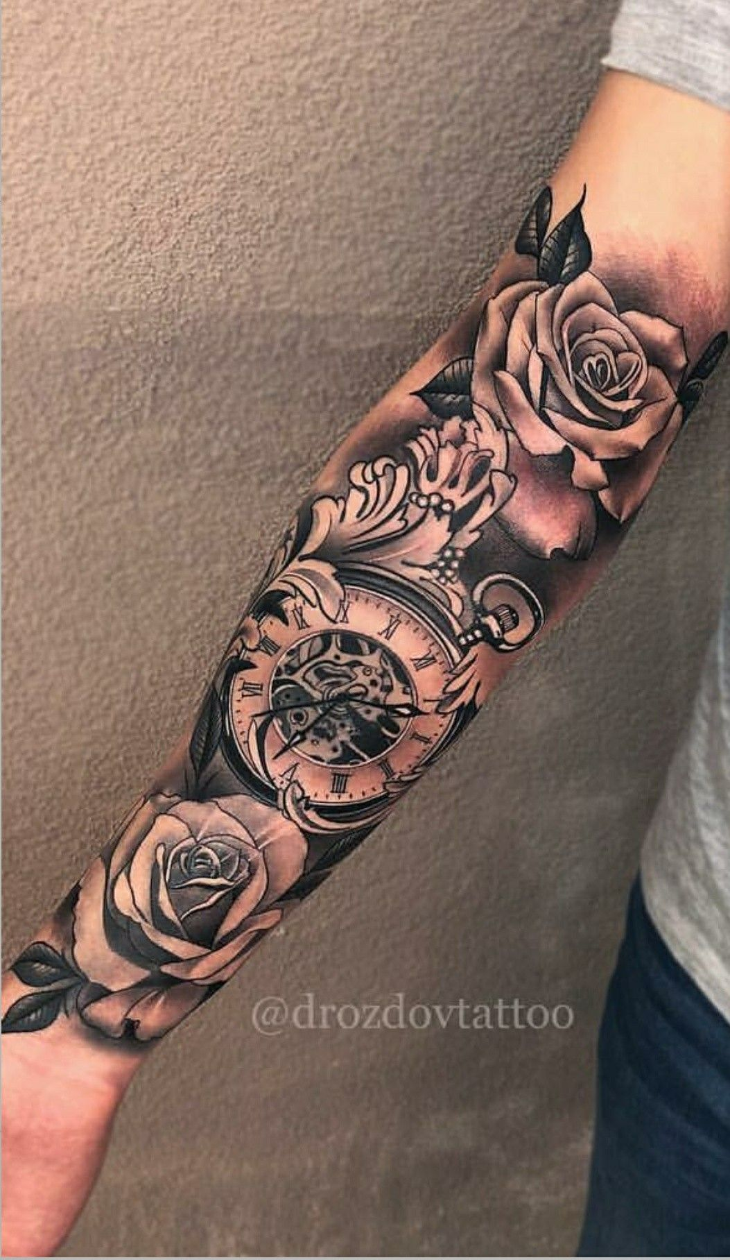 Pin By Dany Bebe On Relogio Hand Tattoos For Guys Hand Tattoos Sleeve Tattoos
