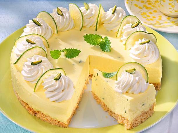 Limetten-Quark-Torte #tortenrezepte