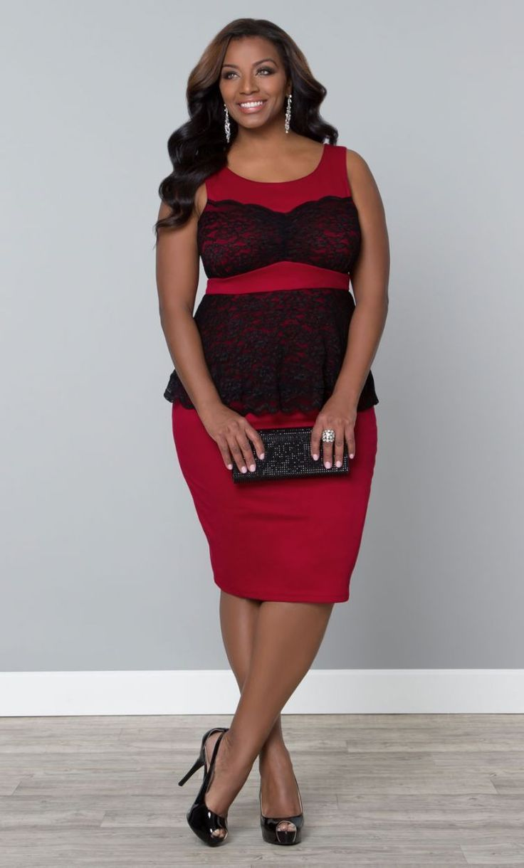 Plus Size Peplum Dress 4x Fixed Color Dress Pinterest