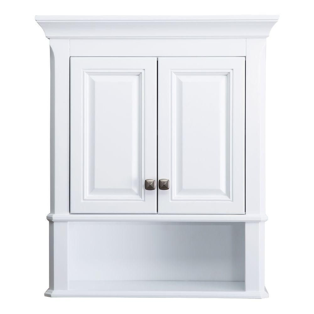 How To Install Bathroom Wall Cabinets White Bathroom Storage