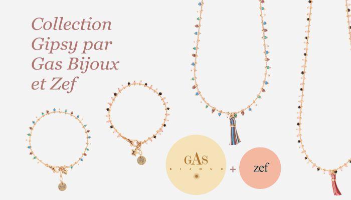 Collection Gipsy : une collaboration entre Gas Bijoux et Zef  Pour le Printemps-Eté 2013