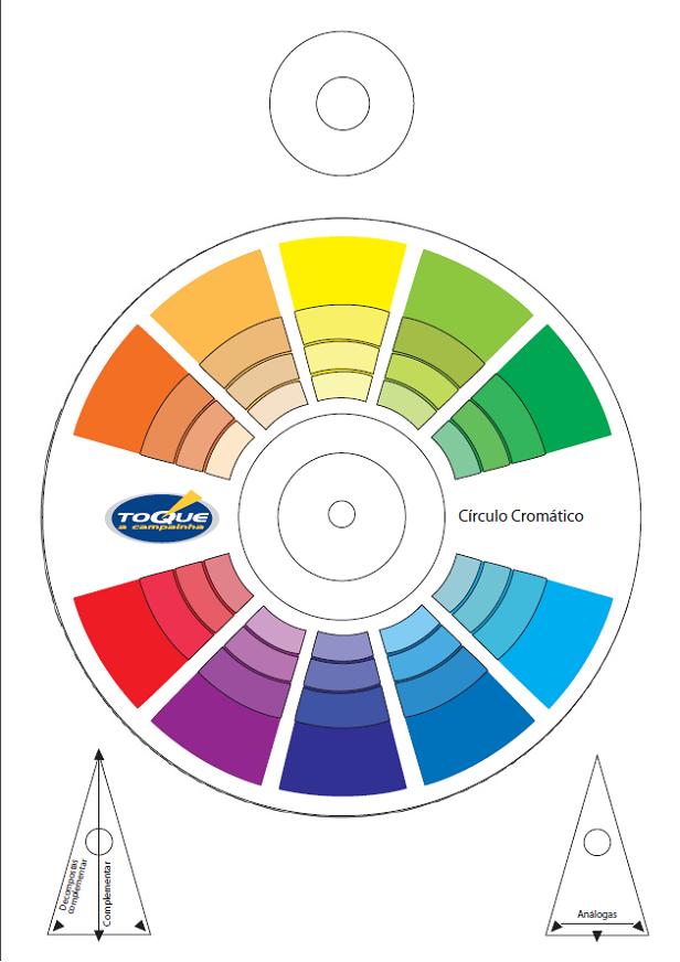 círculo-cromático-para-imprimir | Teoria das cores em 2019 ...