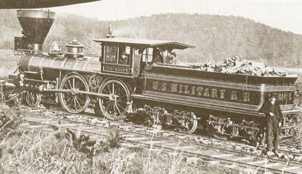 civil war army of west virginia   Civil War Trains