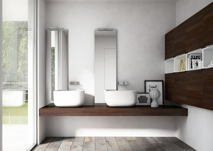 The new collection by Idea http://www.ideagroup.it/bagno-moderno ...