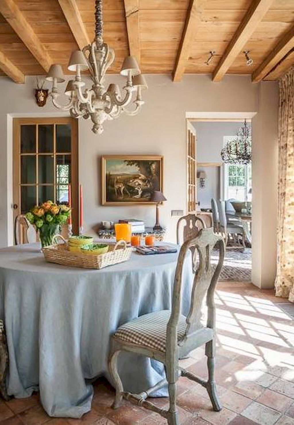 75 Fancy French Country Dining Room Decor Ideas  French Country Endearing French Country Dining Room Decorating Ideas Design Ideas