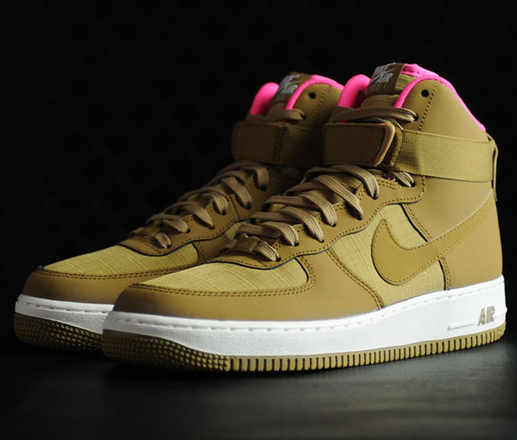 Nike Air Force 1 High Net Yeezy 1 Sole Collector Sneakers